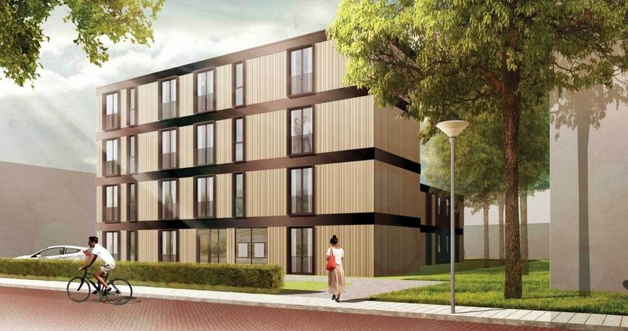 Modulaire huurappartementen in Zwolle